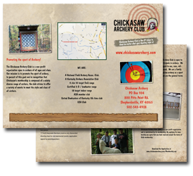 Chickasaw Archery Brochure